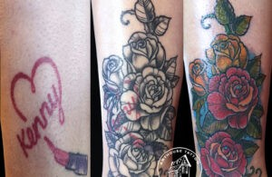 ArtHouse Tattoo Before and After 5
