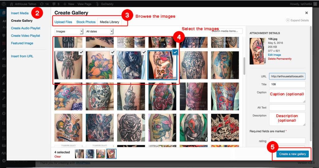 ArtHouse Tattoo Tutorials 2
