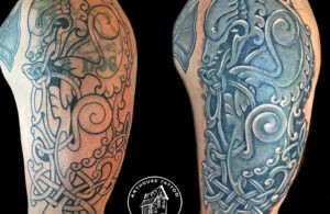 ArtHouse Tattoo Before and After 9