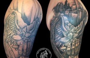 ArtHouse Tattoo Before and After 10