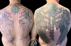 ArtHouse Tattoo Before and After 13