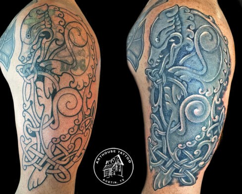 ArtHouse Tattoo Before and After 14