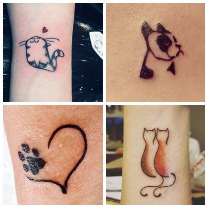 Cause for Paws Mini Tattoos
